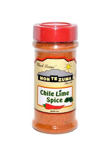 Chuck Evans' MONTEZUMA Brand Sauces & Salsas | Chile Lime Spice